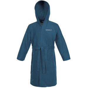 speedo Microfiber Bathrobe navy navy