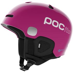 POC POCito Auric Cut Spin Helmet Barn fluorescent pink fluorescent pink