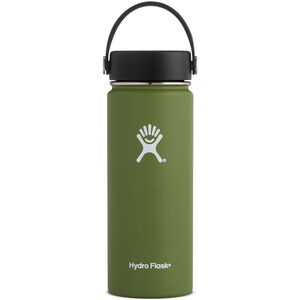 Hydro Flask Wide Mouth Flex Bottle 532ml Olive Olive