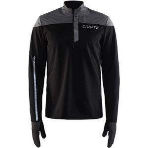 Craft Repel Wind Jersey Herr black/dark grey melange black/dark grey melange