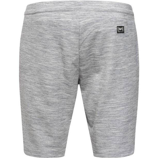 super.natural Essential Shorts Herr ash melange