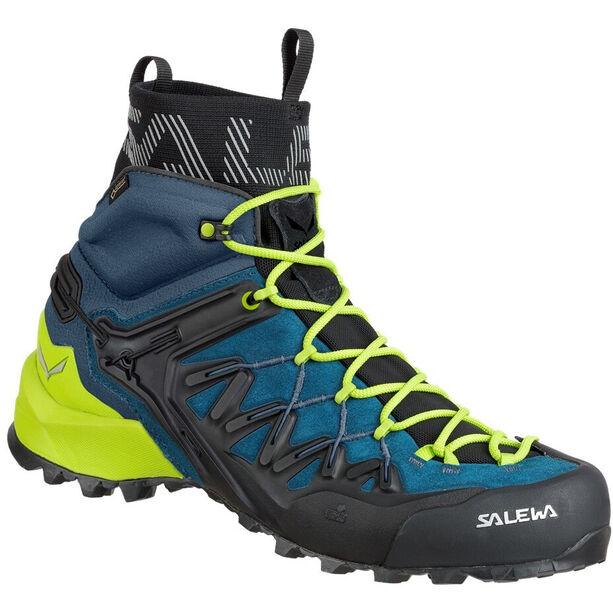 SALEWA Wildfire Edge GTX Mid Shoes Herr poseidon/cactus