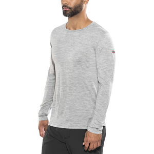 Devold Breeze Shirt Herr grey melange grey melange