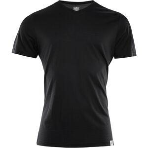 Aclima LightWool T-shirt Herr jet black jet black