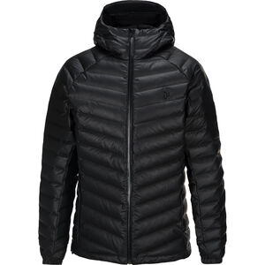 Peak Performance Frost Dry Down Hooded Jacket Herr black black