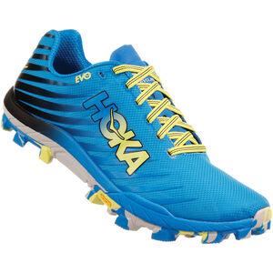Hoka One One Evojawz Running Shoes Dam cyan/citrus cyan/citrus