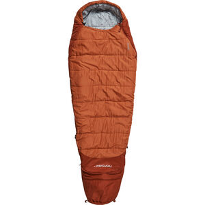 Nordisk Knuth Sleeping Bag 160-190cm Barn burnt red burnt red