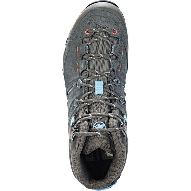 Mammut Alnasca Pro Mid GTX Shoes Dam graphite-whisper