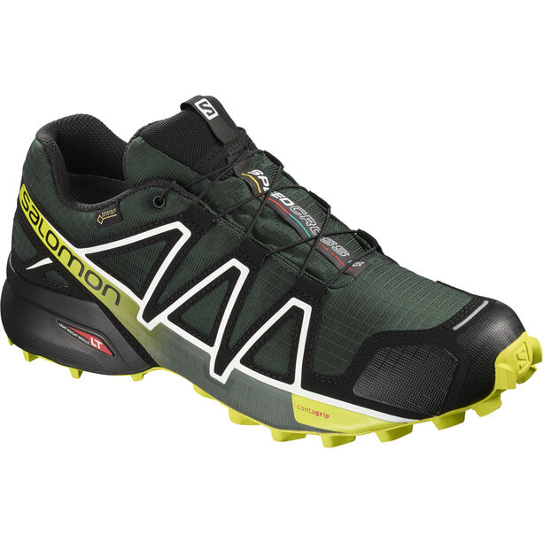 Salomon Speedcross 4 GTX Shoes Herr darkest spruce/black/acid lime