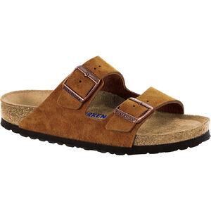 Birkenstock Arizona Soft Footbed Sandals Suede Leather mink mink