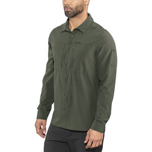 Craghoppers NosiLife Pro III Long Sleeved Shirt Herr dark khaki dark khaki