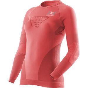 X-Bionic Speed Evo Running Shirt LS Dam pink paradise/pearl grey pink paradise/pearl grey