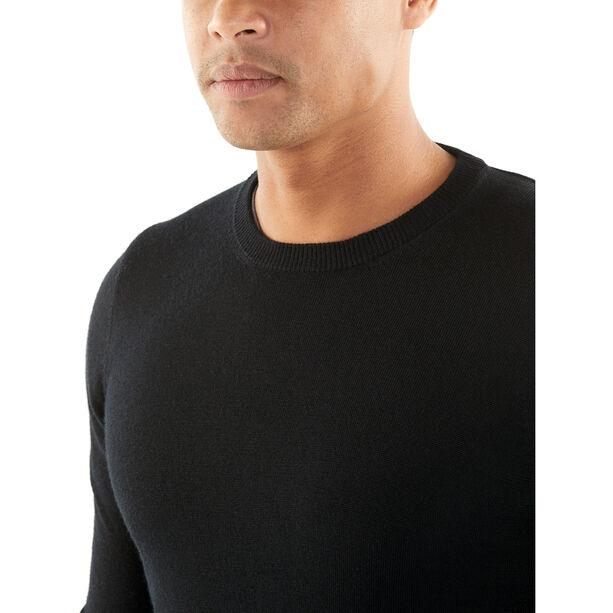 Icebreaker Quailburn Crewe Sweater Herr black