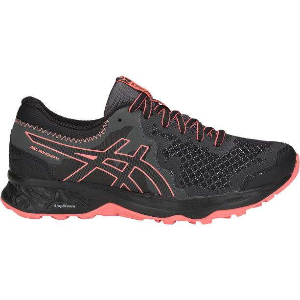 asics Gel-Sonoma 4 Shoes Dam black/papaya