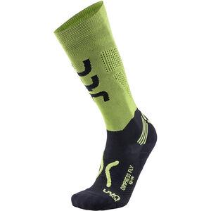 UYN Run Compression Fly Socks Herr acid green/black acid green/black