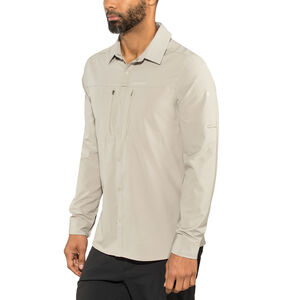Craghoppers NosiLife Pro III Long Sleeved Shirt Herr parchment parchment
