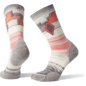 Smartwool PhD Outdoor Light Pattern Crew Socks Dam medium gray medium gray