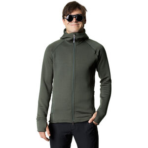 Houdini Power Air Houdi Fleece Jacket Herr baremark green baremark green