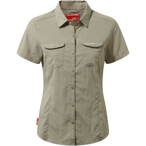 Craghoppers NosiLife Adventure II Short Sleeved Shirt Dam mushroom mushroom
