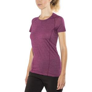 Devold Running T-shirt Dam plum plum