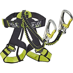 Edelrid Jester Harness and Via Ferrata Set night-oasis night-oasis