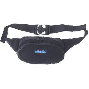 KAVU Canvas Spectator Belt Bag black black