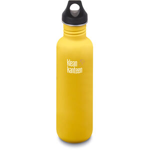 Klean Kanteen Classic Bottle Loop Cap 800ml lemon curry matt lemon curry matt
