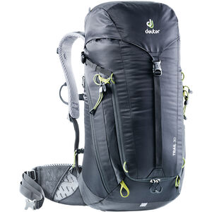 Deuter Trail 30 Backpack Herr black/graphite black/graphite