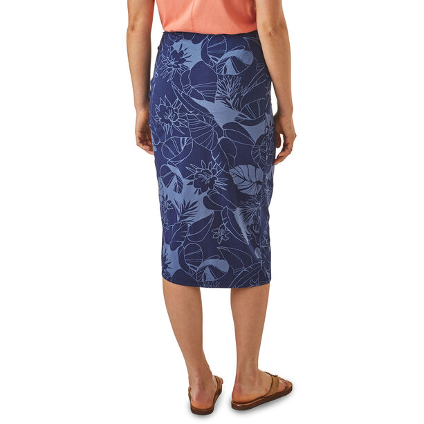 Patagonia Dream Song Skirt Dam calley flora: classic navy