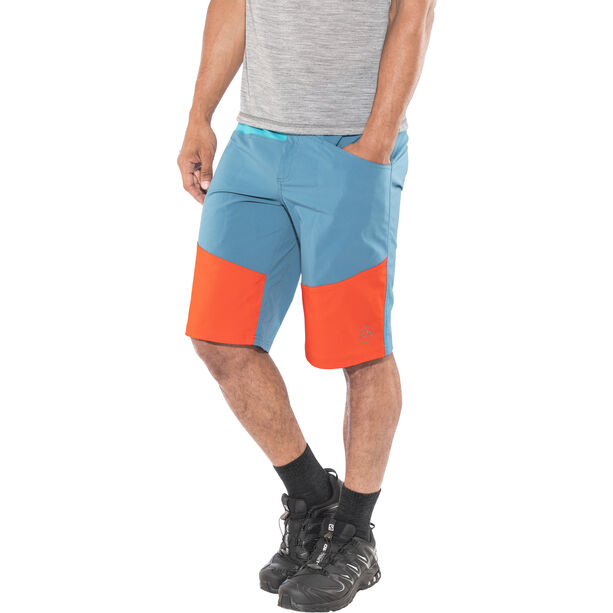 La Sportiva TX Shorts Herr lake/cardinal red