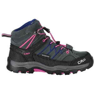 CMP Campagnolo Rigel Mid WP Trekking Shoes Barn grey-hot pink grey-hot pink