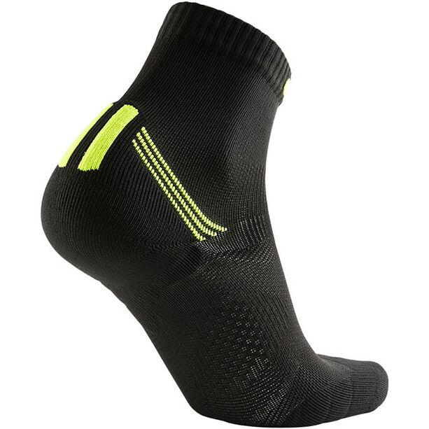 UYN Run Veloce Socks Herr black/yellow fluo