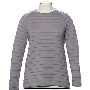 Alchemy Equipment 14GG Merino Stripe Stitch Crew Neck Pullover Dam Mushroom Mushroom
