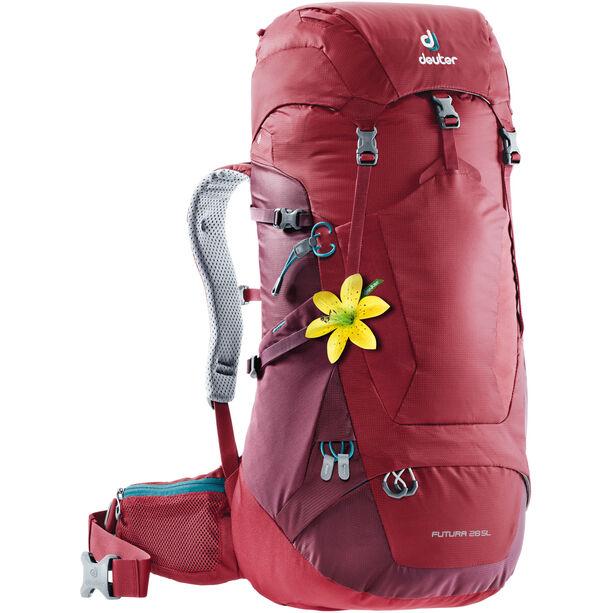 Deuter Futura 28 SL Backpack Dam cranberry-maron