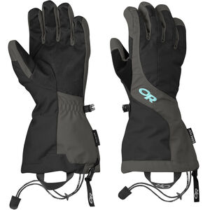 Outdoor Research Arete Gloves Dam Black/Charcoal Black/Charcoal