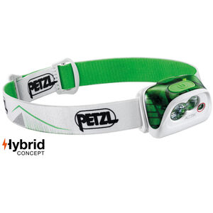 Petzl Actik Headlamp Green Green