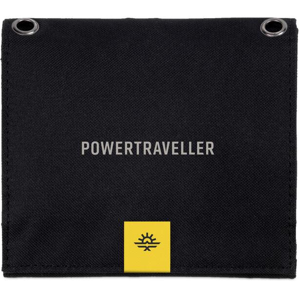 Powertraveller Falcon 7 Powerpack with Solar Kit black