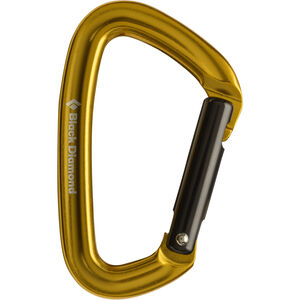 Black Diamond Positron Carabiner Straight yellow yellow