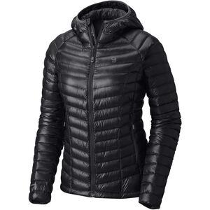 Mountain Hardwear Ghost Whisperer Hooded Down Jacket Dam black black