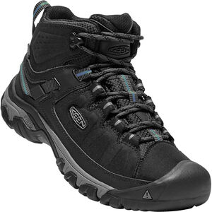 Keen Targhee Exp Waterproof Mid Shoes Herr black/steel grey black/steel grey