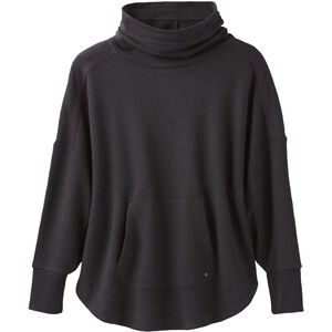 Prana Cosy Up Poncho Dam Charcoal Heather Charcoal Heather