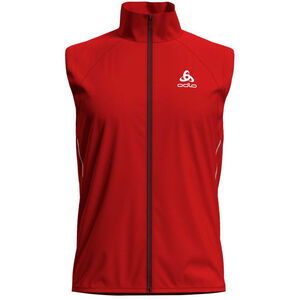 Odlo Zeroweight Windproof Warm Vest Herr fiery red fiery red