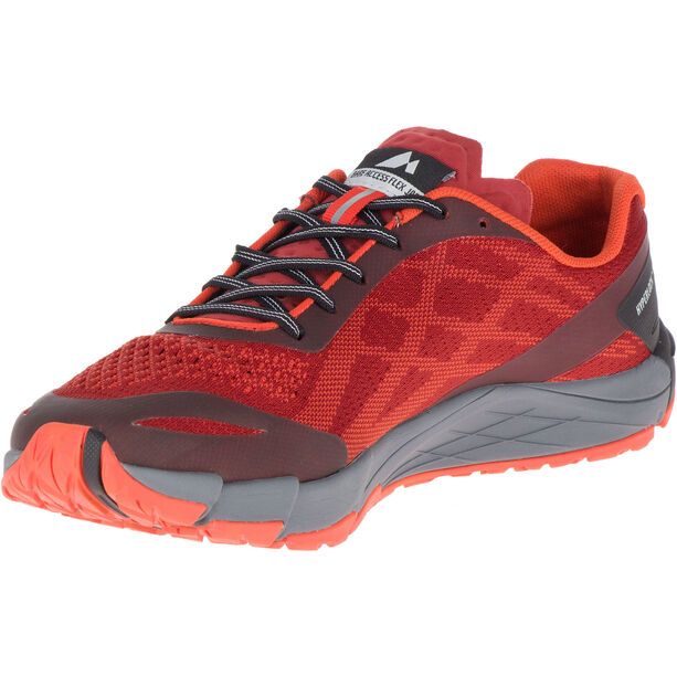 Merrell Bare Access Flex E-Mesh Shoes Herr spicy orange