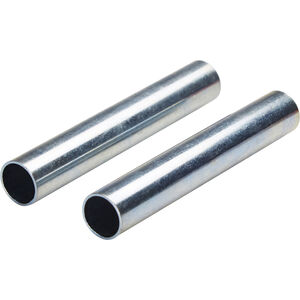 CAMPZ Sleeves for glass fibre poles 11mm Set of 2 silver silver