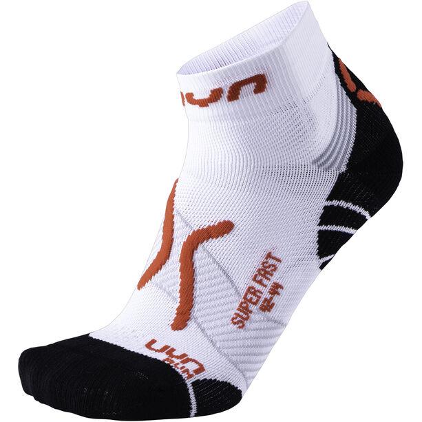 UYN Run Super Fast Socks Herr white/red
