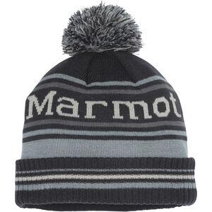 Marmot Retro Pom Hat Dark Steel/Grey Storm Dark Steel/Grey Storm