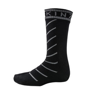 Sealskinz Super Thin Pro Mid Socks with Hydrostop black/grey black/grey