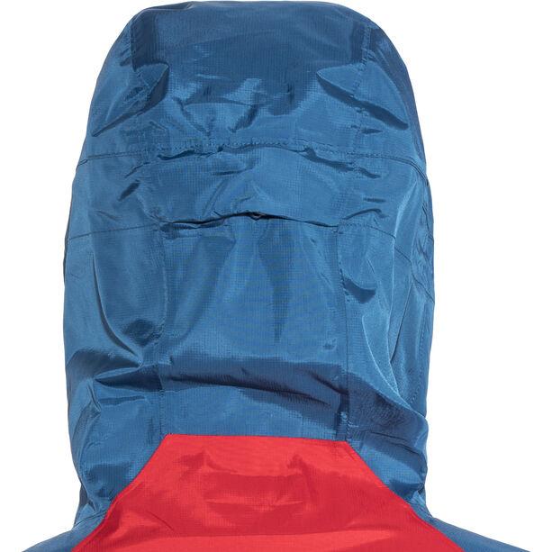 Patagonia Torrentshell Jacket Herr big sur blue w/fire red