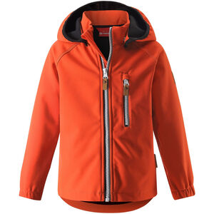 Reima Vantti Softshell Jacket Barn Orange Orange