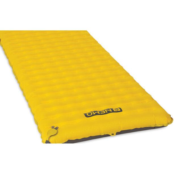 NEMO Tensor Sleeping Pad Regular Tapered elite yellow